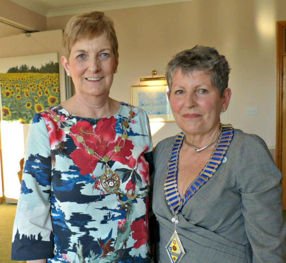 Federation President Sue and SISEE President Jane