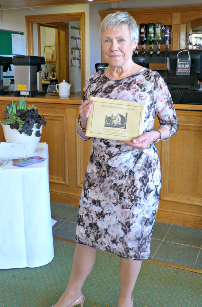 Wanda Wright from SI Medway won two tickets to Great Dixter